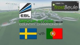 ESL CC 2013: SWE vs. POR - cast by frostBeule