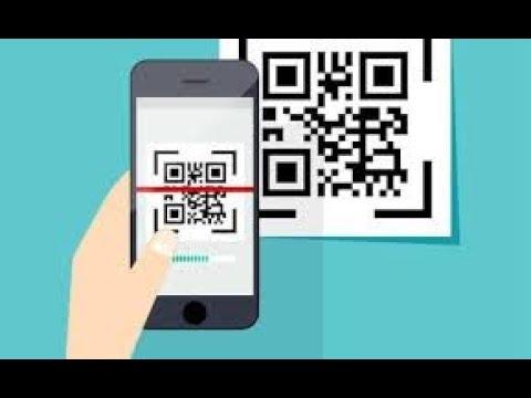 Как читать QR коды с экрана смартфона не имея под рукой второго