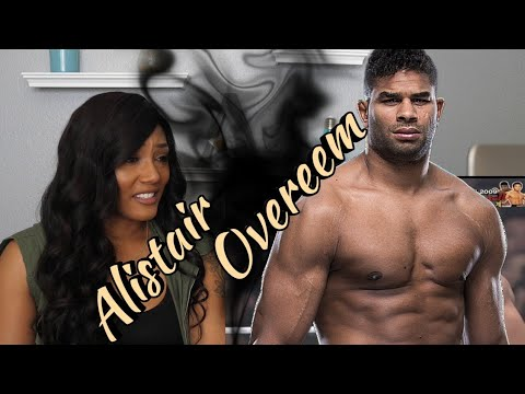 Allure Reacts to Alistair  Overeem's Kickboxing and MMA Highlights