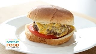 Upgrade Your Burger With Pimiento Cheese - Everyday Food With Sarah Carey