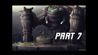 Shadow of the Colossus Remake Walkthrough Part 7 - PELAGIA (PS4 Pro 4K Let's Play)
