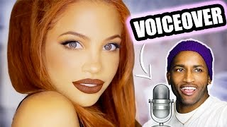 BOY-FRIEND DOES MY VOICEOVER?! ft. Swoozie