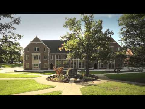 Aerial tour of Grove City College