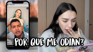 REACCIONANDO A TIKTOKS QUE HACEN SOBRE MÍ😢  l Sofia Castro