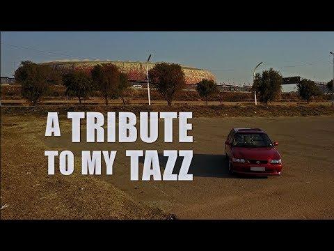 Toyota Tazz 160i XE   A Tribute To My Tazz
