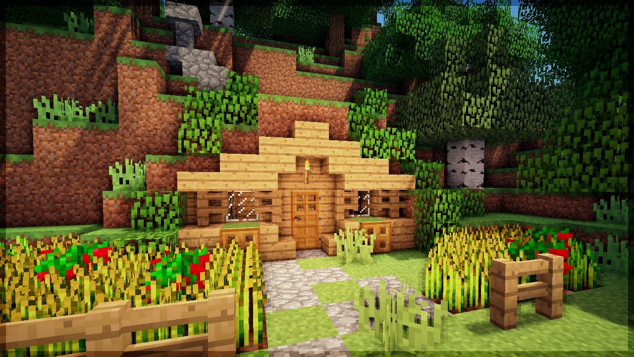 Filme Dentro Da Casa regarding minecraft: construa uma casa na montanha em 5 minutos! (no