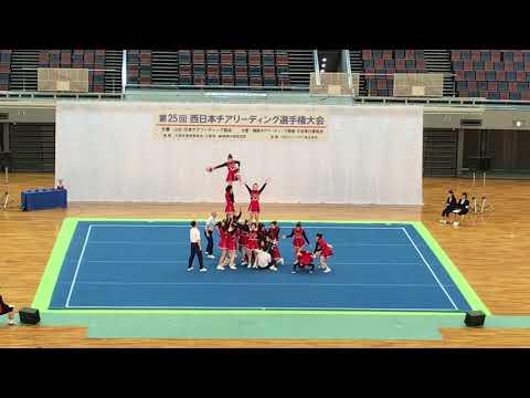 椙山女学園高等学校 A 西日本チアリーディング選手権大会2019.03.10