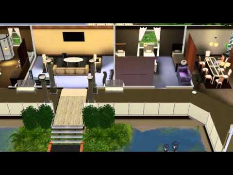 The sims 3 casa com formato de l youtube - Fotos de casas en forma de l ...