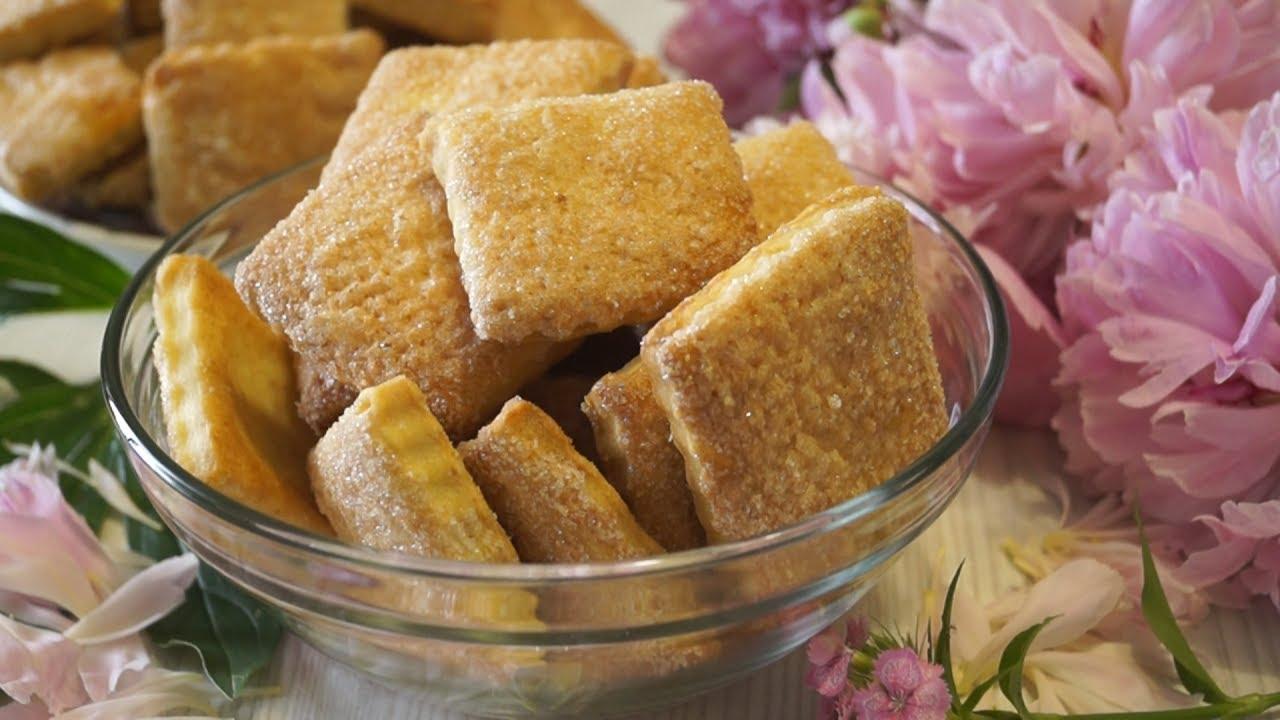 Кулинарные рецепты печенья со сметаны