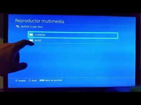 [TUTORIAL] Como reproducir video, música e imágenes en PS4 con Media Player