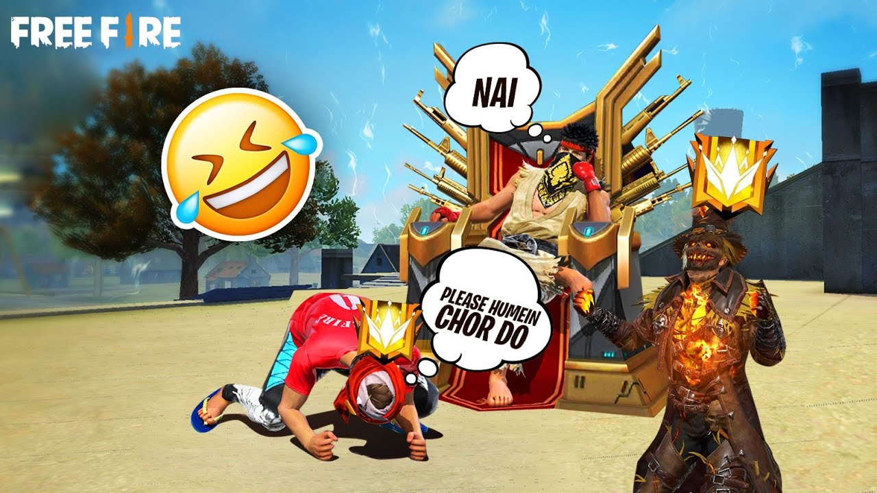 GIVING MINUS TO GRANDMASTER PLAYERS 😎 | FF FUNNY GAMEPLAY | FREE FIRE GRANDMASTER FUNNY |FF PAKISTAN