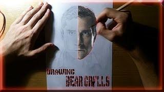 Drawing Bear Grylls   Alexa Svilkic