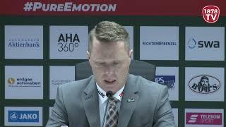 1878 TV | Pressekonferenz 30.12.2018 Augsburg-Schwenningen 8:1