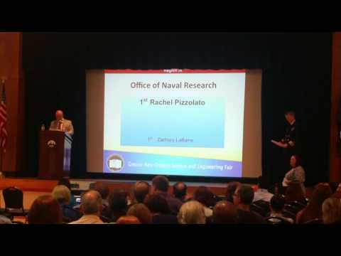 2016 GNOSEF Office of Naval Research Award- Rachel Pizzolato in Energy