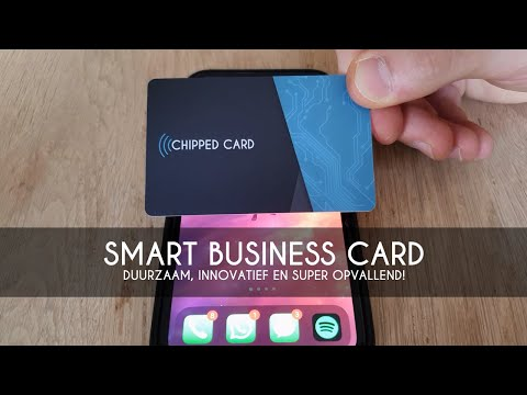 Chipped Card | Tap & Deel je contactgegevens | Creativ Media
