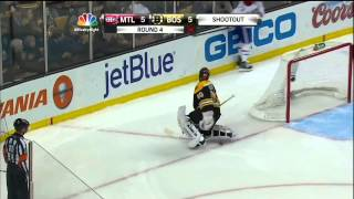 Full shootout Mar 27 2013 Montreal Canadiens vs Boston Bruins NHL Hockey