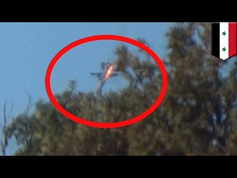 Turkish F-16s shot down Russian fighter jet over Syria for crossing into their airspace - TomoNews