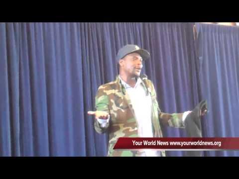 SAMI Conference: M-1 of Dead Prez Delivers a Keynote Address