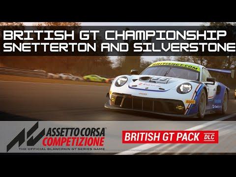 Brand New Assetto Corsa Competizione British GT Season | Round Two & Three |