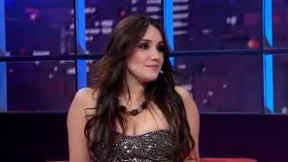 Entrevista Dulce Maria no Luciana By Night - 29/01/13