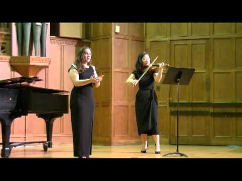 Holst: Four Songs for Voice and Violin