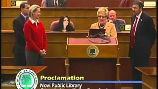 Oakland County Board of Commissioners Meeting 11.20.11