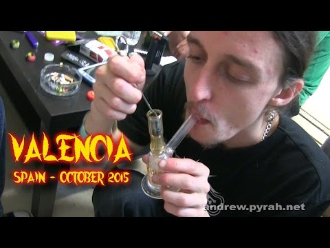Valencia, Spain 2015 - Trip Report - Dabadoo, Cannamed with Smokers Guide TV