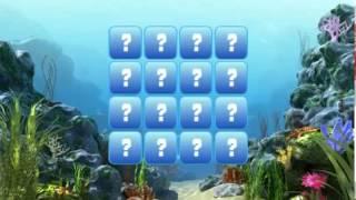 смотреть 3 в ряд Морские животные # 1 мультики и игры онлайн
