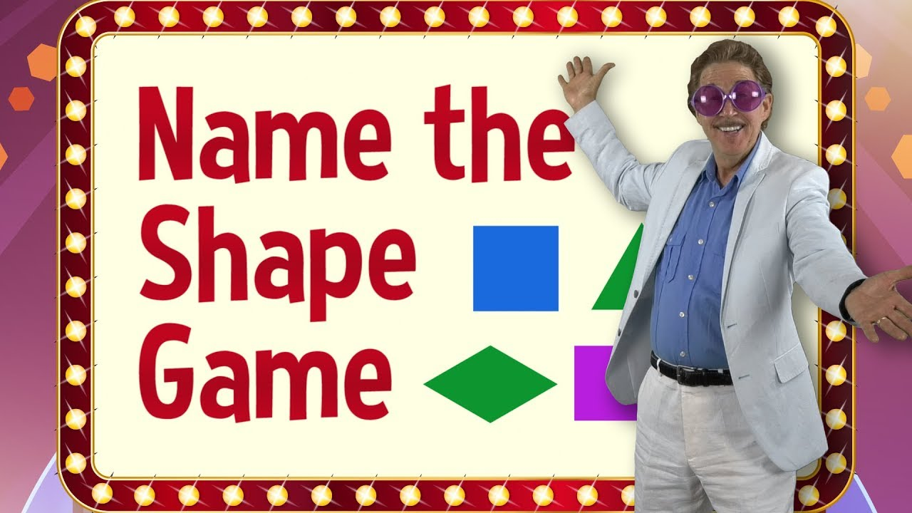 Download Name the Shape Game  | Shape Review Game | Jack Hartmann