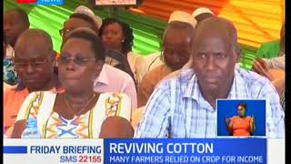 Reviving cotton industry: Kwale farmers to benefit from a Ksh100 million ginnery in the area