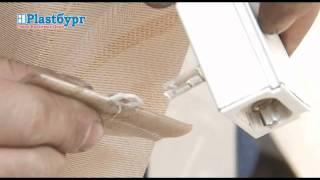 Plastburg. Снятие ламелей с вертикальных жалюзи(Как снять ламели с тканевых вертикальных жалюзи. Быстро и просто. Видео., 2012-01-31T16:24:08.000Z)