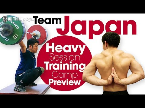 Team Japan 🇯🇵 Heavy Training Session Preview