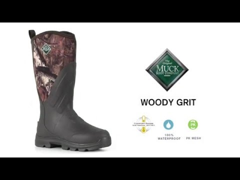 622029ad444 The Woody Grit Boot | The Original Muck Boot Company