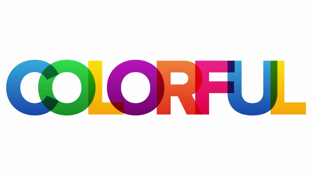 Create Colorful Overlapping Text in Photoshop