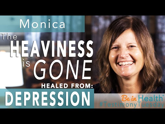 The Heaviness is GONE! Healed from Depression - Monica's Testimony #TestimonyTuesday