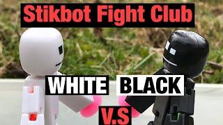 Stikbot Fight Club 3 | White V.S Black | #Stikbot