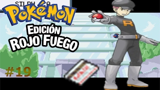 Pokemon Rojo Fuego capítulo 19 La búsqueda de la llave magnética