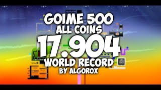 Goime 500 All Coins Speedrun | 17.904