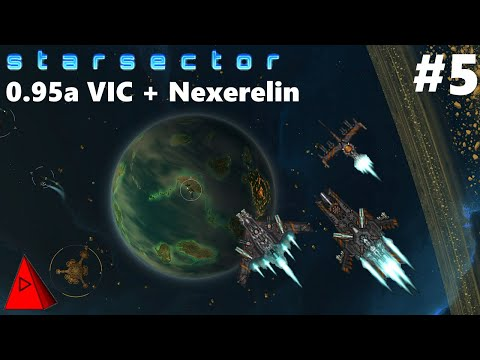 Trouble at the Volkov Industrial Conglomerate - Starsector 0.95a VIC & Nexerelin + 45 Mods - LP #5