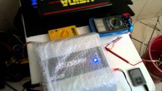 SD2500 teste em 4 ohms