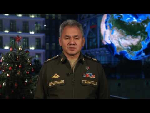 Happy New Year From Russian Defense Secretary Sergey Shoigu