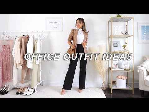 AFFORDABLE WORK OUTFITS | What to Wear to the Office 2021