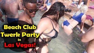 Download Video Lit Las Vegas Pool Twerk Party at Drais Beach Club! MP3 3GP MP4