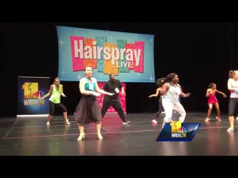 Dancers audition for role in 'Hairspray Live!'