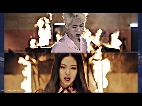 BTS & BLACKPINK – Playing With FIRE '불장난X불타오르네' MASHUP