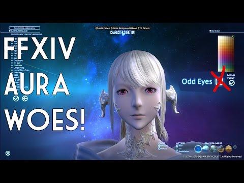 FFXIV 3.0 Au Ra Character creation dislikes.
