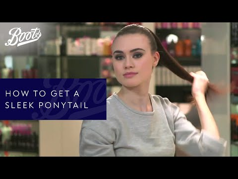 Hair tutorial: How to get a sleek ponytail thumbnail