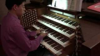 Turkish March - Rondo Alla Turca - Mozart  k.331 - John Hong - Organ Transcription - 터키행진곡