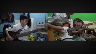 J Rock Lepaskan Diriku Bass Guitar Cover by Irfan faris