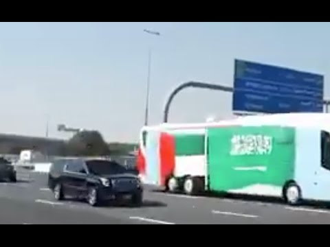 Saudi King Salman arrives in Dubai l VVIP